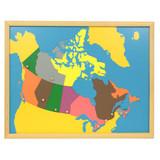Canada Puzzle Map