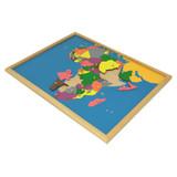 Africa Puzzle Map