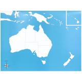 Australia Control Chart - unlabeled