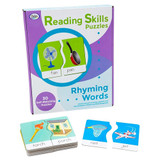 Rhyming Words Reading Skills Puzzles
