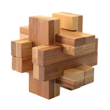 Bamboo Puzzle - Cross 2