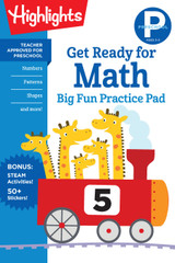 Preschool Math Practice Pad