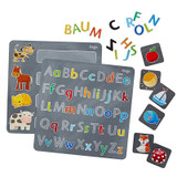 Magnetic Alphabet Game Tin
