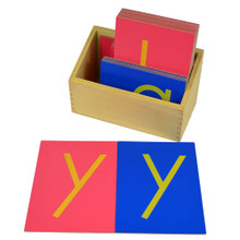 Sandpaper Letters - lower case, print