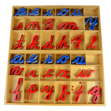 Large Movable Alphabet - cursive
