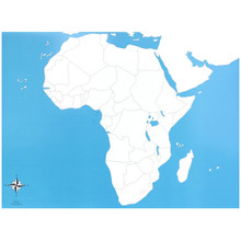 Africa Control Chart - unlabeled