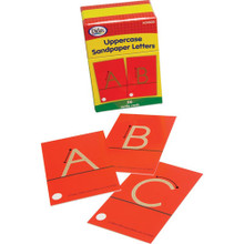 Sandpaper Letters, upper case