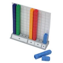 Interlocking Cubes Hundred Base