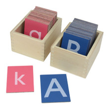 Small Sandpaper Letters