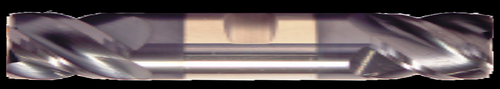 4 Flute, Double End, ALTiN Coated Carbide End Mill   RTJTool.com