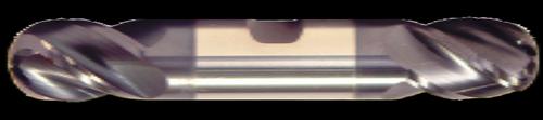 4 Flute, Double End, AlTiN Coated Ball Nose Carbide End Mill | RTJTool.com