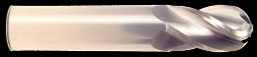 HTC Spoon Cutter, 3 Flute, Ball Nose End Mill | RTJTool.com