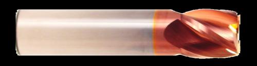 4 Flute, Stub Length, TiCN Coated Carbide End Mill   RTJTool.com