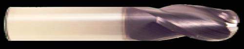 HTC Spoon Cutter, 3 Flute, Ball Nose End Mill   RTJTool.com