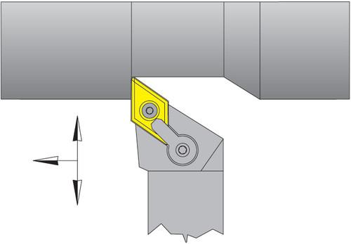 "DNMG-432 Inserts w/ 3/4"" Right Hand MDJNR Tool Holder Kit - DPC15HT"