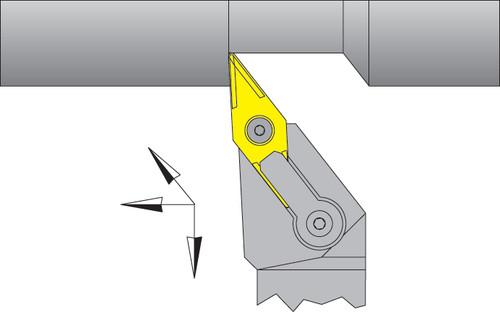 "VNMG-332 Inserts w/ 3/4"" Right Hand MVJNR Tool Holder Kit - DPC15HT"