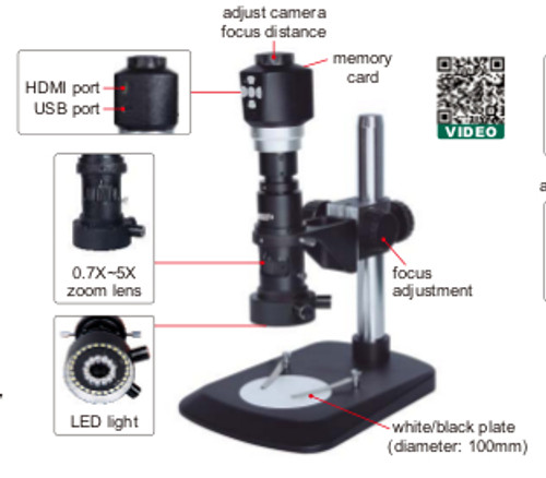 INSIZE ISM-DM40 Digital Measuring Micrscope | RTJTool.com