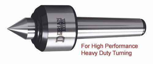 Heavy Duty Live Center   60º Standard Steel Point