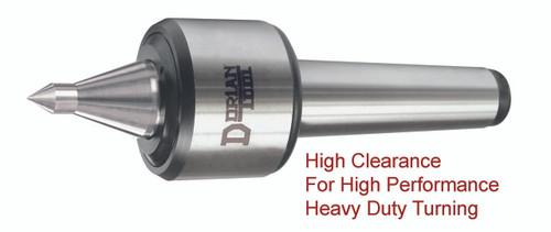 Heavy Duty Live Center   60º Extended Medium Slim Steel Point