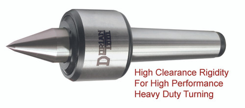Heavy Duty Live Center   60º Extended Large Steel Point