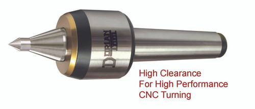 Dorian CNC High Speed Live Center, Extended Point | RTJ Tool Company