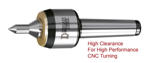 CARBIDE POINT CNC High Speed Live Center   60º Extended Large Slim