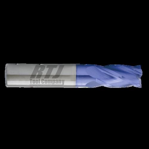 4 Flute, AlTiN Coated Carbide End Mills | RTJ Tool Company