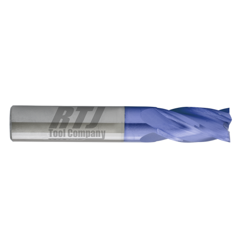 4 Flute, AlTiN Coated Carbide End Mills | RTJ Tool Company