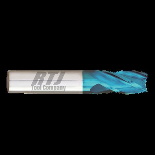 5 Flute HTC Hot MIll, Sky Coated | RTJ Tool Company