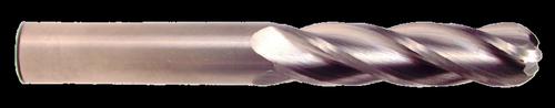 2 Flute, Uncoated Ball Nose Carbide End Mill   RTJTool.com