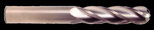 4 Flute, Uncoated Ball Nose Carbide End Mill   RTJTool.com