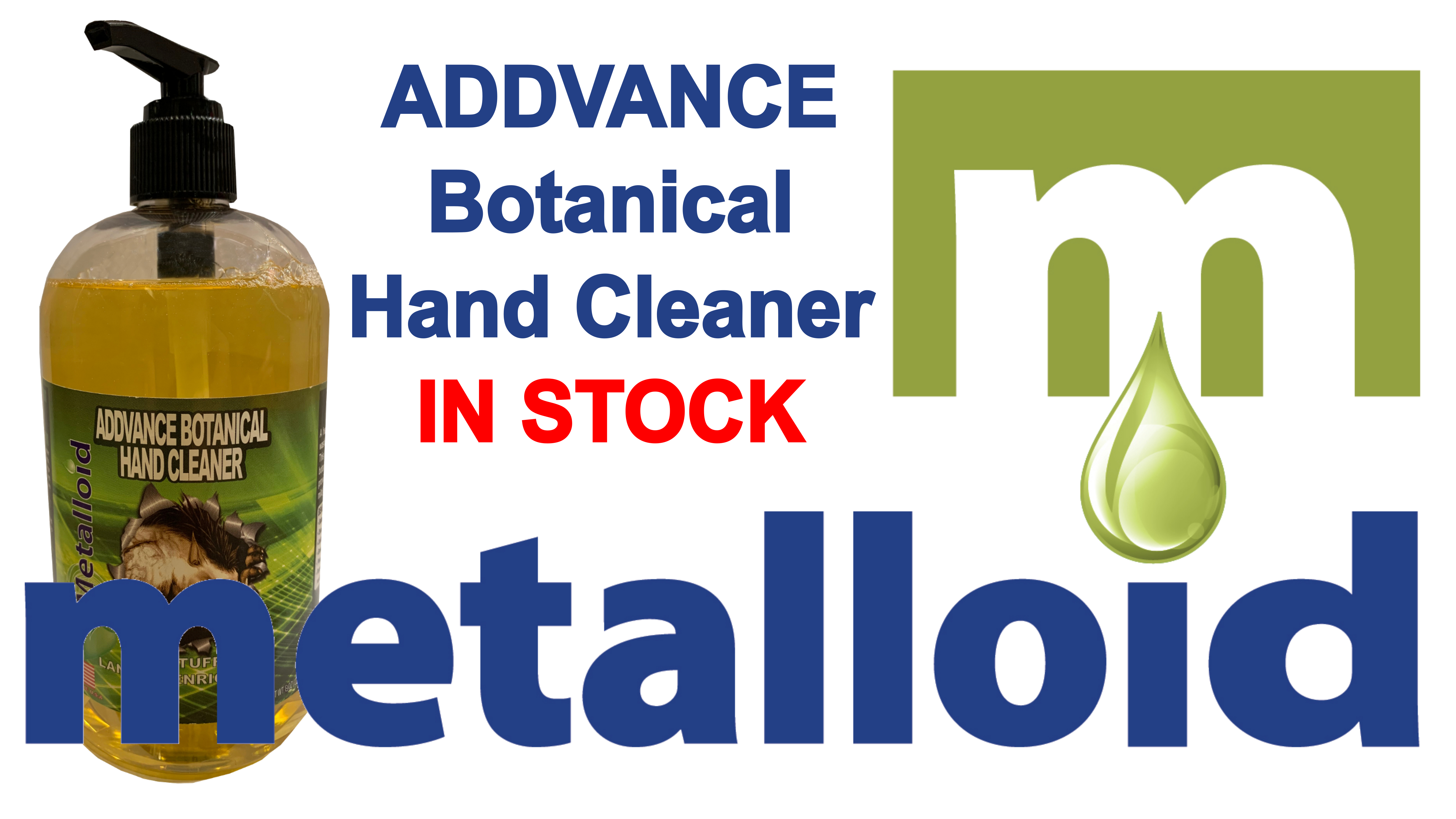 Metalloid Corporation Hand Cleaner