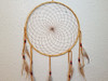 Deerskin Leather Dreamcatcher