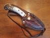 Elk Antler Handled Knife & Sheath