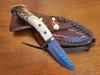 Beautiful burnished steel blade