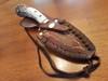 Antler knife and sheath set
