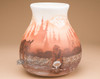 Native American Navajo Pottery Vase -Prospector