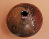 "American Indian Pottery Vase 6.5""x5"" -Bear"