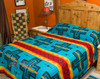 Cochiti Turquoise Southwest Bedspread