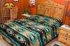 Navajo Bedspread Back View