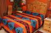 Southwest Tesuque Bedspread Back