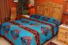 Tesuque Southwestern Reversible Bedspread