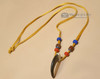 """Genuine Bear Claw Navajo Necklace 30"""" (ij205)"""