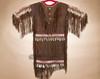 Traditional Tigua Elk Hide Ceremonial Dress
