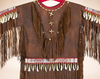 Traditional Native American Dress -Close up
