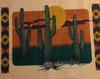Arizona Sunset Close-up
