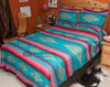 Southwestern Bedspread Saltillo Turquoise -Shams Available Separately