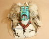 Tarahumara Mask Wall Hanging - Flat view