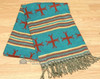 Soft Woven Southwestern Shawl 36x80 - (s33)