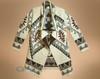 Southwest Cream Cardigan Sweater